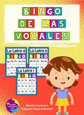 Bingo de las Vocales