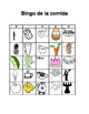 Bingo de la comida / Food bingo