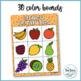 Bingo de las frutas  (Spanish Fruit Bingo)