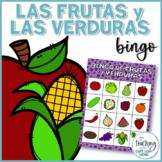Bingo de las frutas y las verduras (Spanish Fruit and Vegetable Bingo)