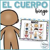 Bingo de las partes del cuerpo - Body Parts Bingo in Spanish