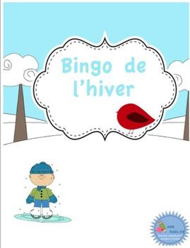 Bingo de l'hiver/ French winter bingo