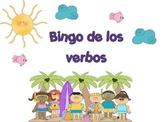 Bingo de los verbos