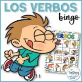 Bingo de los verbos - Bingo Verbs in Spanish