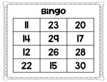 Bingo de valor posicional (Place Value Bingo SPANISH)