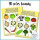 Bingo de verduras (Spanish Vegetable Bingo)