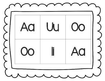 Bingo de vocales