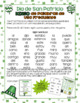 Bingo del Dia de San Patricio - Palabras de Uso Frecuentes