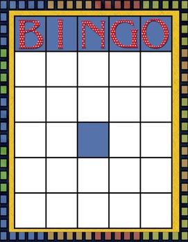 Bingo des comportements positifs