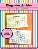 Bingo des doubles - French Addition Doubles Game (28 Bingo