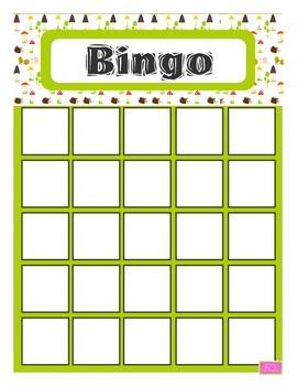 Bingo des empreintes