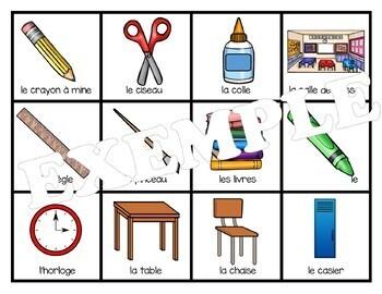 Bingo école