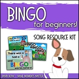 Bingo for Beginners! - Critical Thinking, Singing, Instruments, and more!!