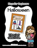 Bingo for Beginners ~ Preschool ~ Halloween *o