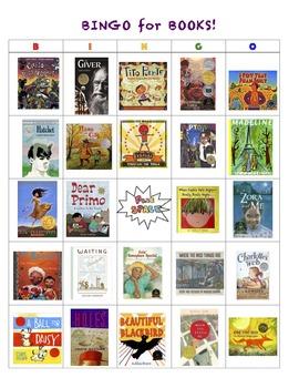 Bingo for Books Game Set