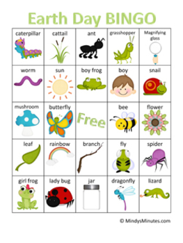 Bingo for Earth Day