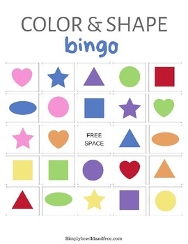 Bingo for PreK