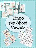 Bingo for Short Vowels CVC Words