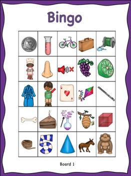 Bingo for Silent E CVCe Words