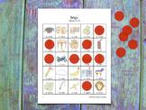 Bingo for Spanish Syllables - MNÑ - Bingo de sílabas