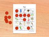 Bingo for Spanish Vowels - Bingo de vocales