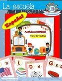 Bingo game - Word wall - La Escuela project