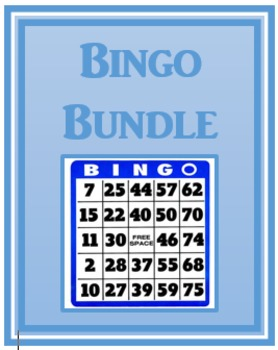 Bingo games in Spanish Bundle