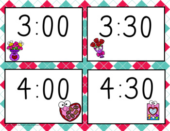 Bingo: hour and half hour-February