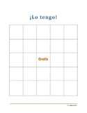 Bingo in Spanish -Countries and capitals  -GAME