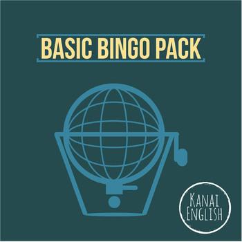 Bingo multipack: 3 Basic Bingo sheets, bingo cards, and bonus Lotto Bingo