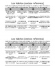 Bingo para Clase de Español: Verbos reflexivos