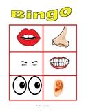 Bingo partes del cuerpo/Bingo Body's part