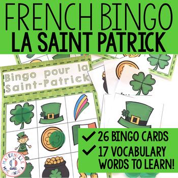 Bingo pour la Saint-Patrick!