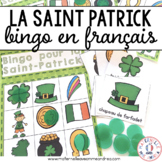 Bingo - la Saint-Patrick (FRENCH Saint Patrick's Day Bingo)