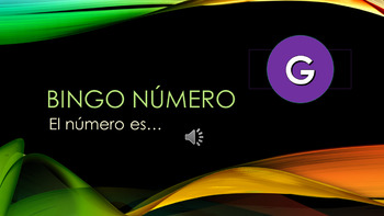 Bingo random Numeros 0-20 Spanish numbers from 0-20