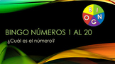 Bingo random Numeros 0-20 Spanish numbers from 0-20