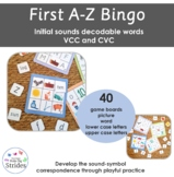 Bingo - sounds, letters and words - basic code