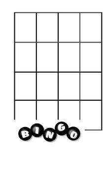 Bingo template