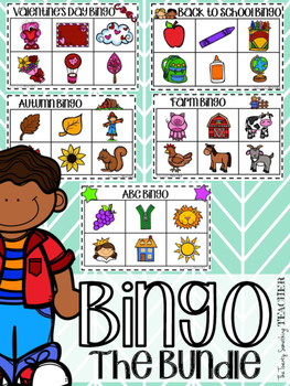 Bingo the Bundle! Bingo Boards for All Year Long!