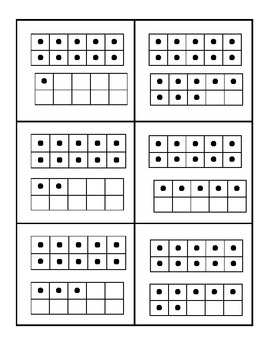 Bingo using ten frame and numbers 11 to 20
