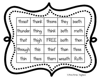 Bingo with Diagraph TH