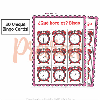 Bingo with La Hora