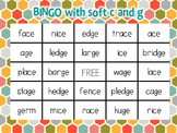 Bingo with Soft c and g