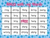 Bingo with -ng Words