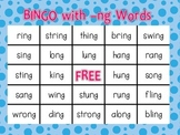 Bingo with -ng Words