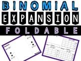 Binomial Expansion Foldable