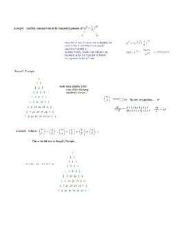 Binomial Expansion Theorem Quiz