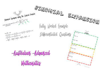 Binomial Expansion using the General Formula