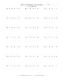 Binomial Multiplication (FOIL) Practice Worksheet Generato
