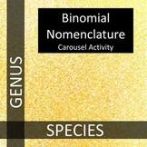 Binomial Nomenclature:  THE GREAT GENUS SPECIES CHALLENGE